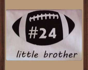 Little Brother or Sister Sports Shirt