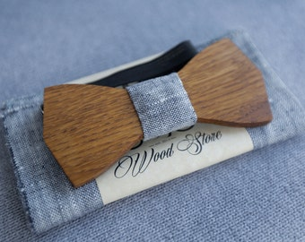 Wood / For him / Personalized / Wedding bow tie / Tie / Bow tie / Wooden bow tie / Bow tie men / Father gift / Unique gift / For man / Gift
