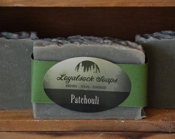 Patchouli Soap - organic, handmade, all natural, cold process, vegan