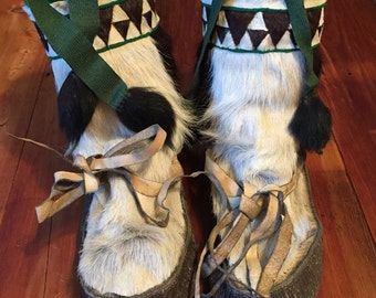 Native Alaskan made mukluks
