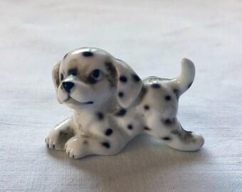 Cute Dalmatian Puppy Dog Figurine - Price Includes Shipping
