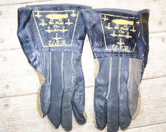 Vintage WWII WW2 Ladies Flying Gloves