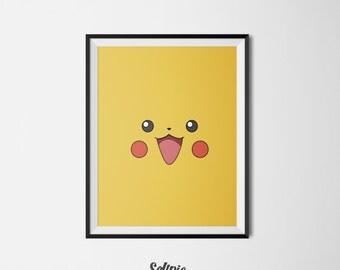 Pikachu from Pokemon Go