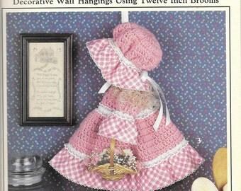 Leisure Arts Country Broom Dolls