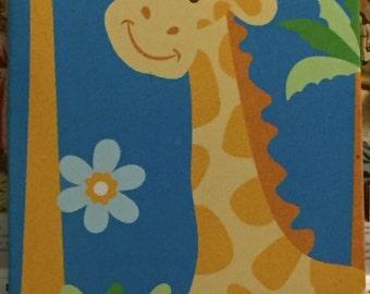 Giraffe Canvas Print | Cute animal | Wildlife |
