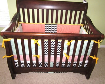 Baby Crib Bumper & Bedding Set