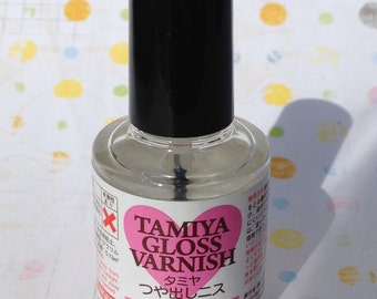 TAMIYA  Gloss Varnish (Water-based) 10ml