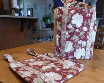 Close Out Sale: Two Reusable Market Bags