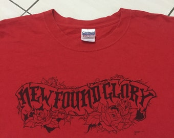 BIGSALE New found glory band tee punk rock emo hip hop