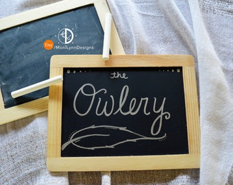 Owlery - Harry Potter Sign