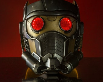Guardians of the Galaxy Star Lord Helmet Mask Cosplay / Costume Prop (Resin Kit)