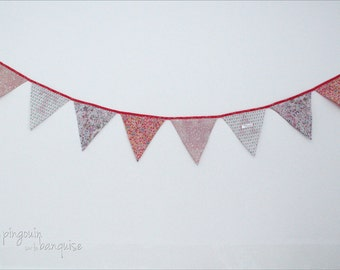 Garland of pennants - colors - customize