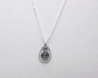 Seaglass Swirl Necklace