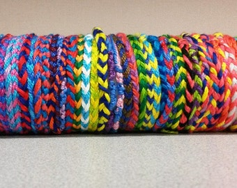 Braided Bracelet in any 2-4 colors