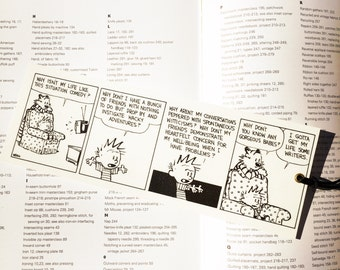 Calvin and Hobbes bookmark, great gift.