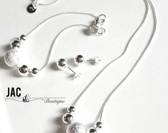 Round Ball Jewelry Set