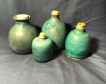 Corked jars