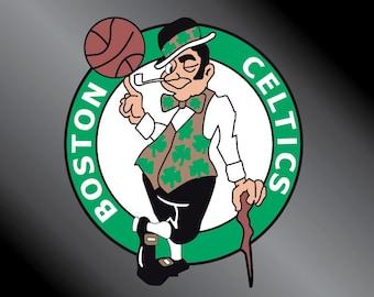 Boston Celtics Vinyl Decal Sticker