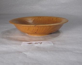Cherry Wooden Salad Bowl #59