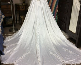 Vintage wedding  gown #5