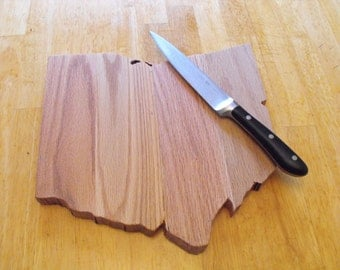Custom State Cutting Board