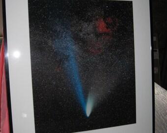 Comet Hale-Bopp and the Milkyway