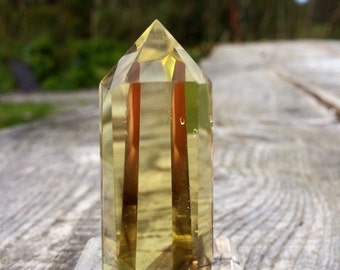 Smokey Lemon Quartz Tower