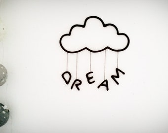 """Directed to the """"DREAM"""" knitting wool cloud"""