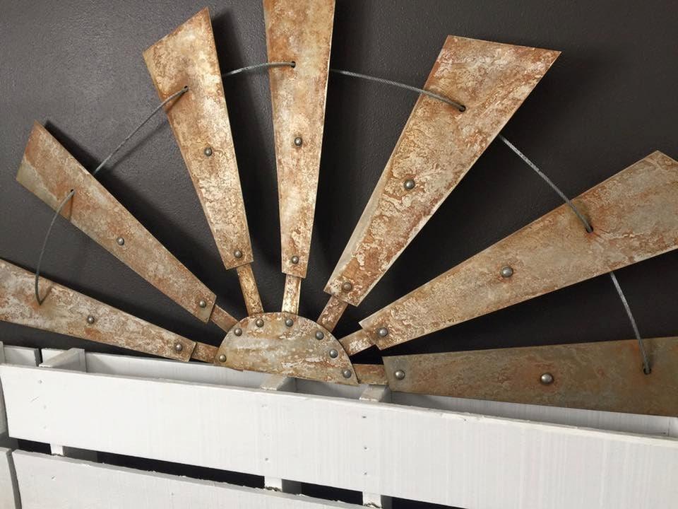 Metal Wall Decor Windmill :