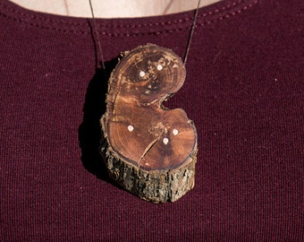 Deadfall & Inlay pendant