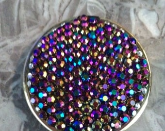 Diamante mirror compact
