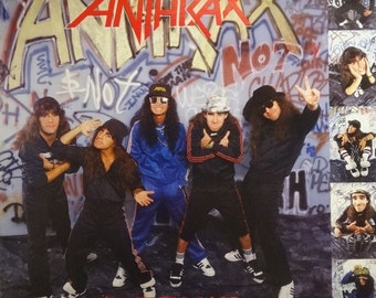 Anthrax 24x24 I'm The Man Music Promo Poster 1987