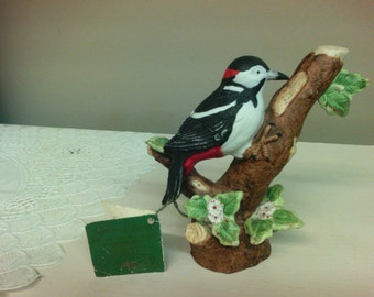 Russ Nature's Song Downy Woodpecker Figurine
