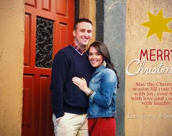 Customizable Christmas Card, Christmas Card