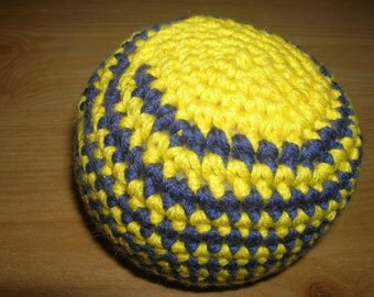 Baby ball, play ball, rattle ball with Bell, D = 8 cm
