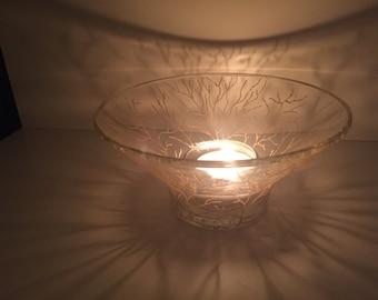 Tealigth holder/ dessert bowl
