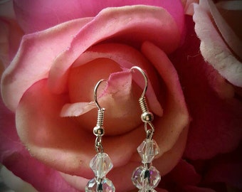 Vintage-look Dangle Earrings