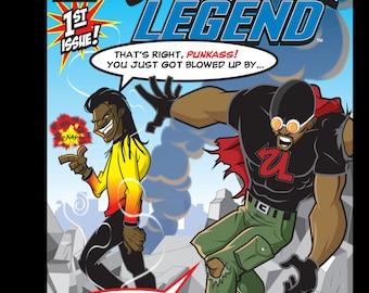 Urban Legend #1 Journal Cover