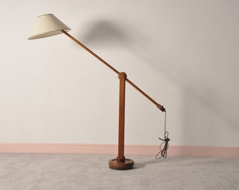 Mid century modern danish  teak floor lamp