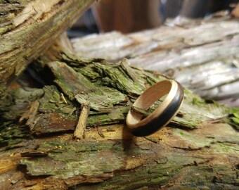 Ring of ebony and Maple