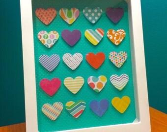 Heart Shadow Box Frame