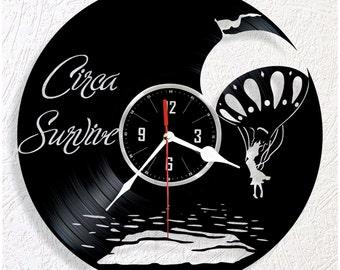 Vinyl wall clock Circa Survive