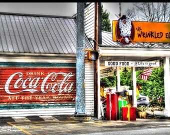 The Wrinkled Egg Store, Flat Rock, North Carolina, Coca-Cola