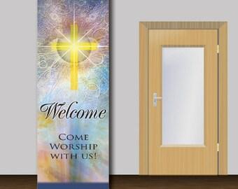 Welcome Church Banner - 1008