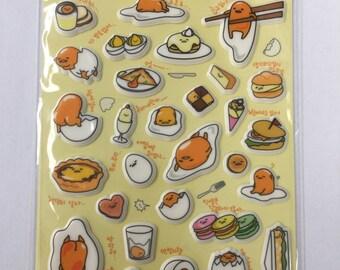 Sanrio Gudetama Lazy Egg Dessert Macaron Sticker Sheet Planner Kikki K