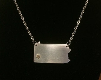 Pittsburgh, PA Hometown Pride Necklace