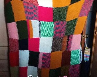 Handmade custom fleece blanket