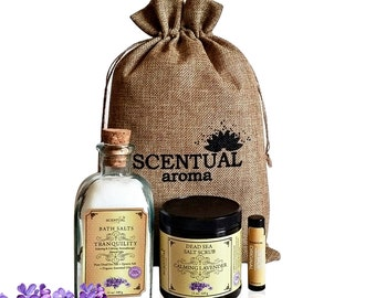 SPA SET, Organic Spa Set, Bath & Beauty Gift Set, Organic Gift Set, Organic Spa, Birthday Gift, Gift Set for Her, Gifts for Mom