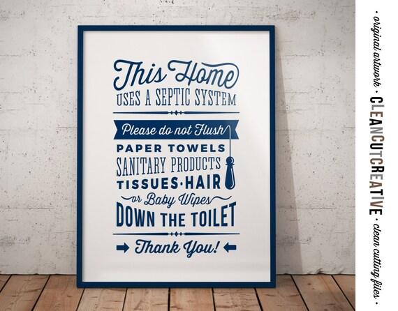 Bathroom sign septic system navy do not flush toilet sign - Bathroom signs for septic systems ...