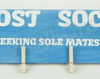 Lost Socks Laundry Sign
